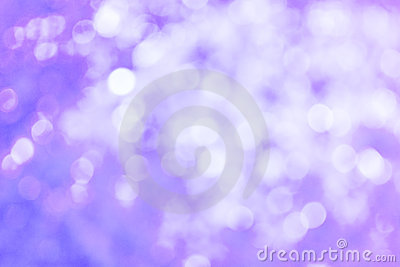 Abstract Light Purple Defocussed Lights Background