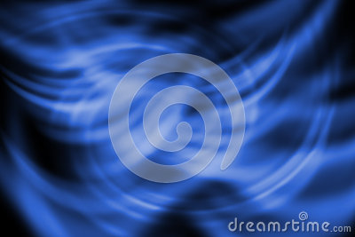 Abstract line with twirl blue background