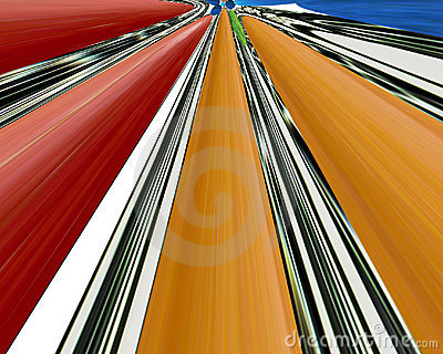 Abstract linear color background.