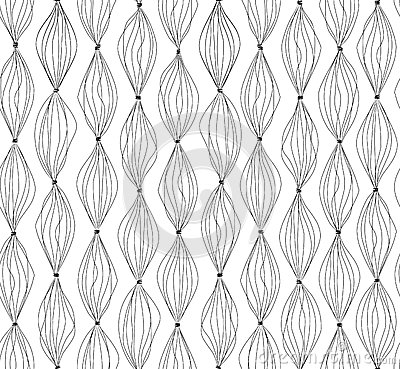 Free Abstract Lines Background.Geometric Dot Lined Seamless Pattern. Royalty Free Stock Photo - 48755285