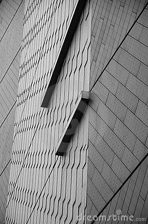 Abstract Lines in Black and White