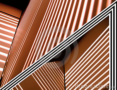 Abstract Lines Copper