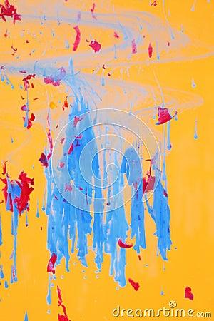 Abstract liquid art