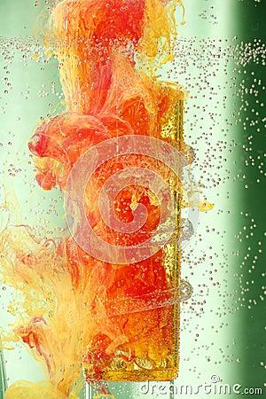 Abstract Liquid Colors