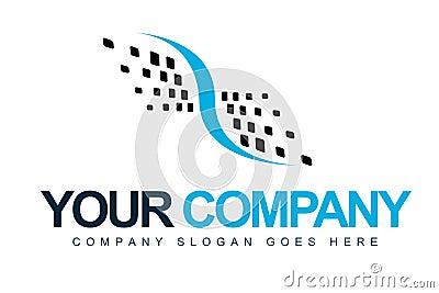Abstract Logo Dots