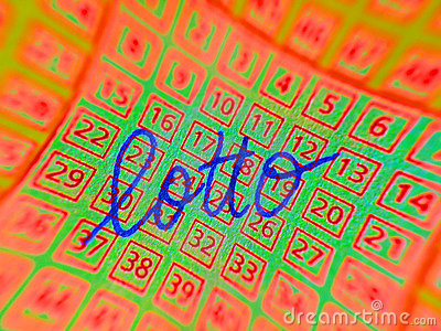 Abstract lottery ticket