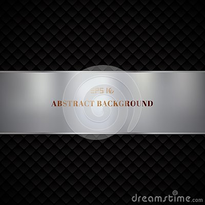 Free Abstract Luxury Black Geometric Squares Pattern Design On Dark Background Stock Photography - 134093942