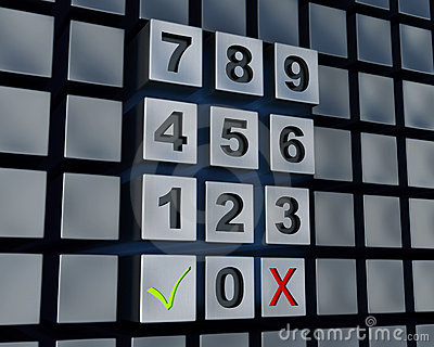 Abstract massive numbers pad