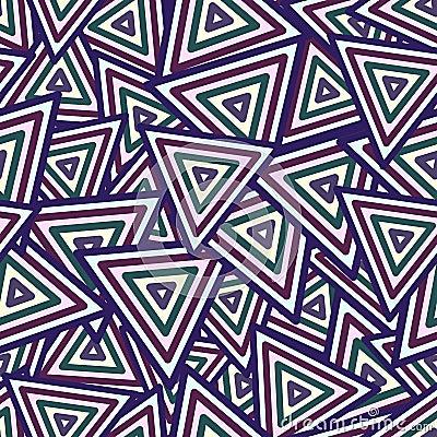 Abstract Maya Dark Seamless Pattern