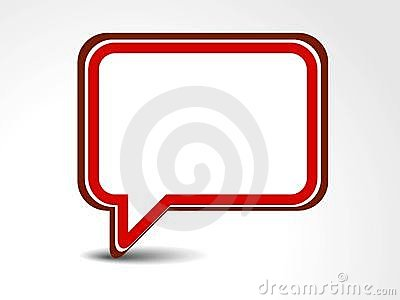 Abstract messenger window icon