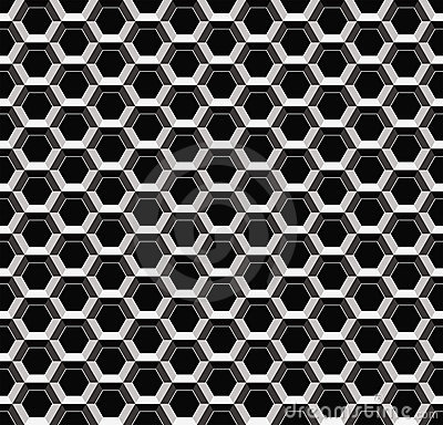 Abstract metal seamless pattern
