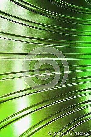 Abstract metal tube