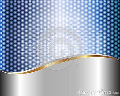 Abstract metallic background 3
