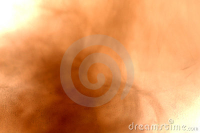 Abstract mist of sand and dust