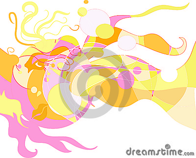 Abstract modern artwork - Fantasy 01