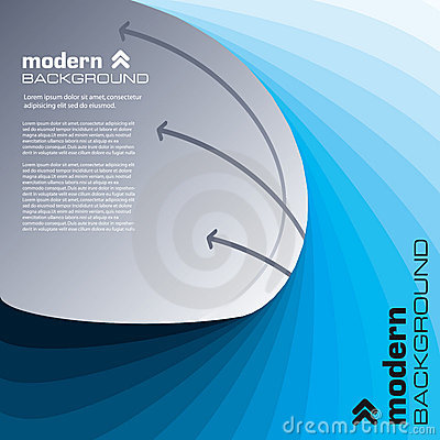 Free Abstract Modern Background. Vector. Royalty Free Stock Images - 13089299