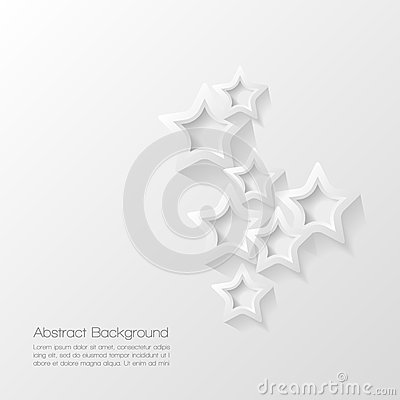 Abstract modern star  background