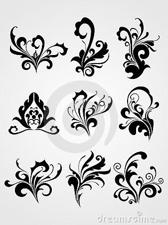 Stock Images: Abstract modern tattoos artwork