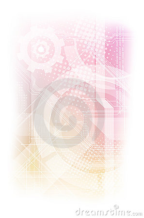 Abstract modern technical background