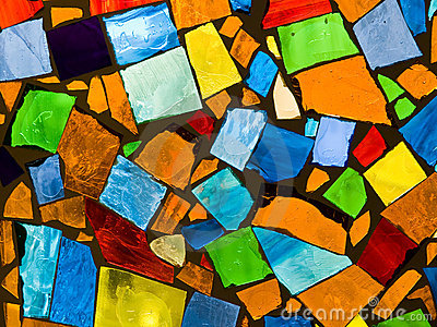 Abstract mosaic