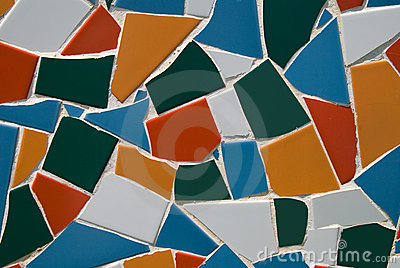 Abstract Mosaic Pattern