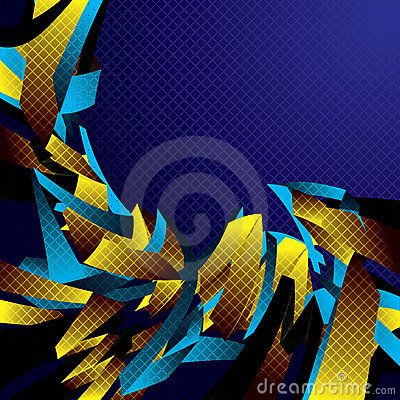 Abstract motion background.
