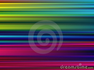 Abstract Multicolor Motion Blur Background