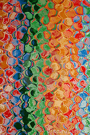 Abstract Multicolor Pattern