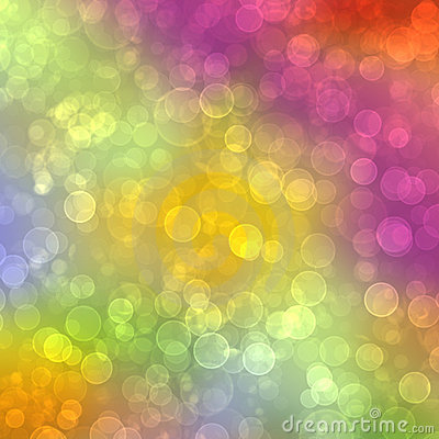 Free Abstract Multicolored Background With Blur Bokeh Royalty Free Stock Photo - 13621785
