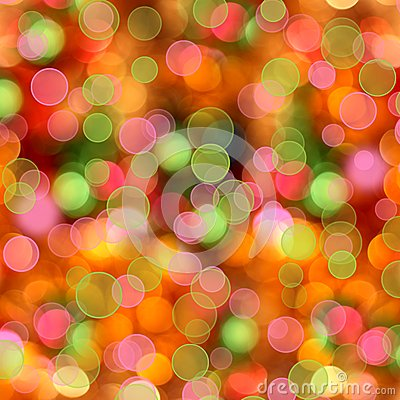 Free Abstract Multicolored Background With Blur Bokeh Royalty Free Stock Photos - 45043048