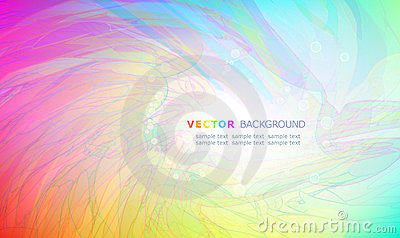 Abstract multicolour background.