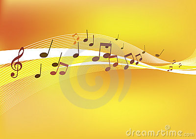 Abstract Music Background.