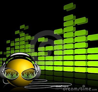 Free Abstract Music Background Stock Images - 9154544