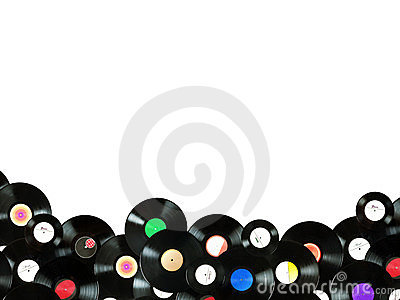 Abstract music colorful background