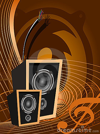 Abstract music design