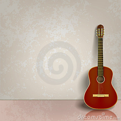 music time guitar abstract - photo #6