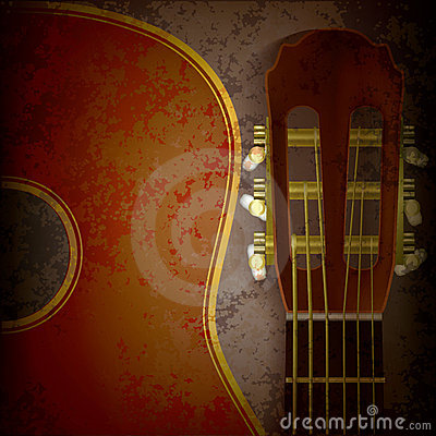 music time guitar abstract - photo #20