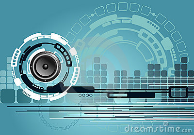 Abstract Music Technology Background