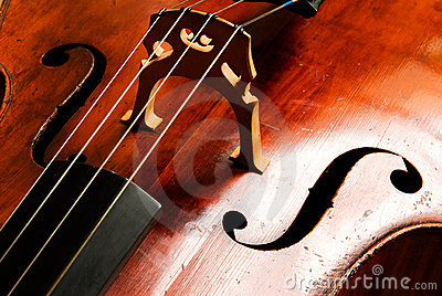 Abstract music violoncello