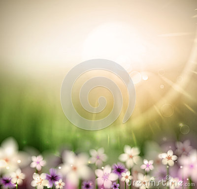 Abstract natural background