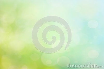 Abstract spring or summer bokeh background Stock Photo