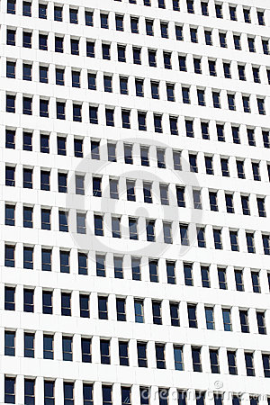 Abstract office building windows