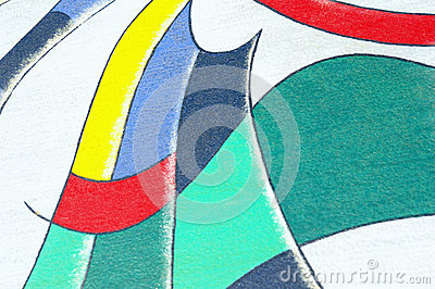 Abstract oil painting background.