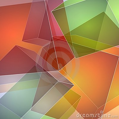 Free Abstract Opaque Squares Stock Photography - 2848672