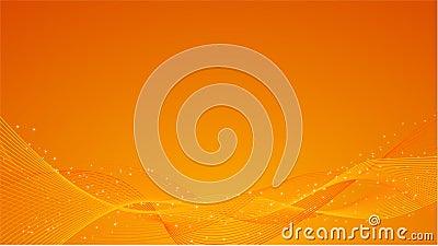 Abstract orange background