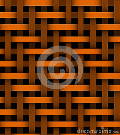 Abstract orange lines on background