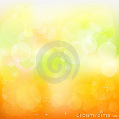 Abstract Orange And Yellow Background. Vector