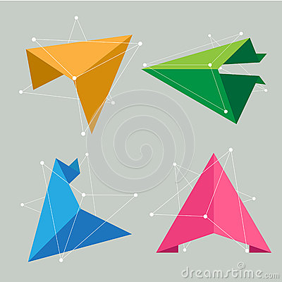 Abstract Origami Science Concept Stock Images - Image: 36811864 - photo#4