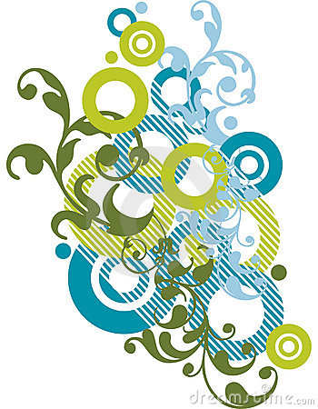 Abstract ornamental design