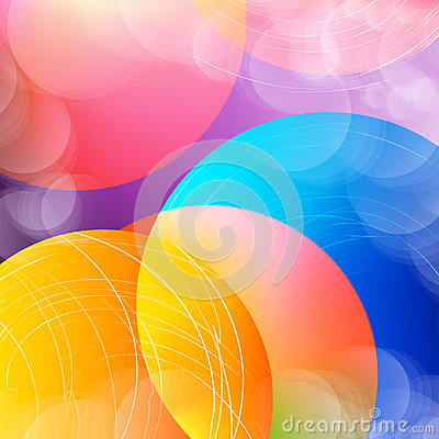 Free Abstract Overlay Circle Background With Circles. Vector. Stock Photo - 93112180